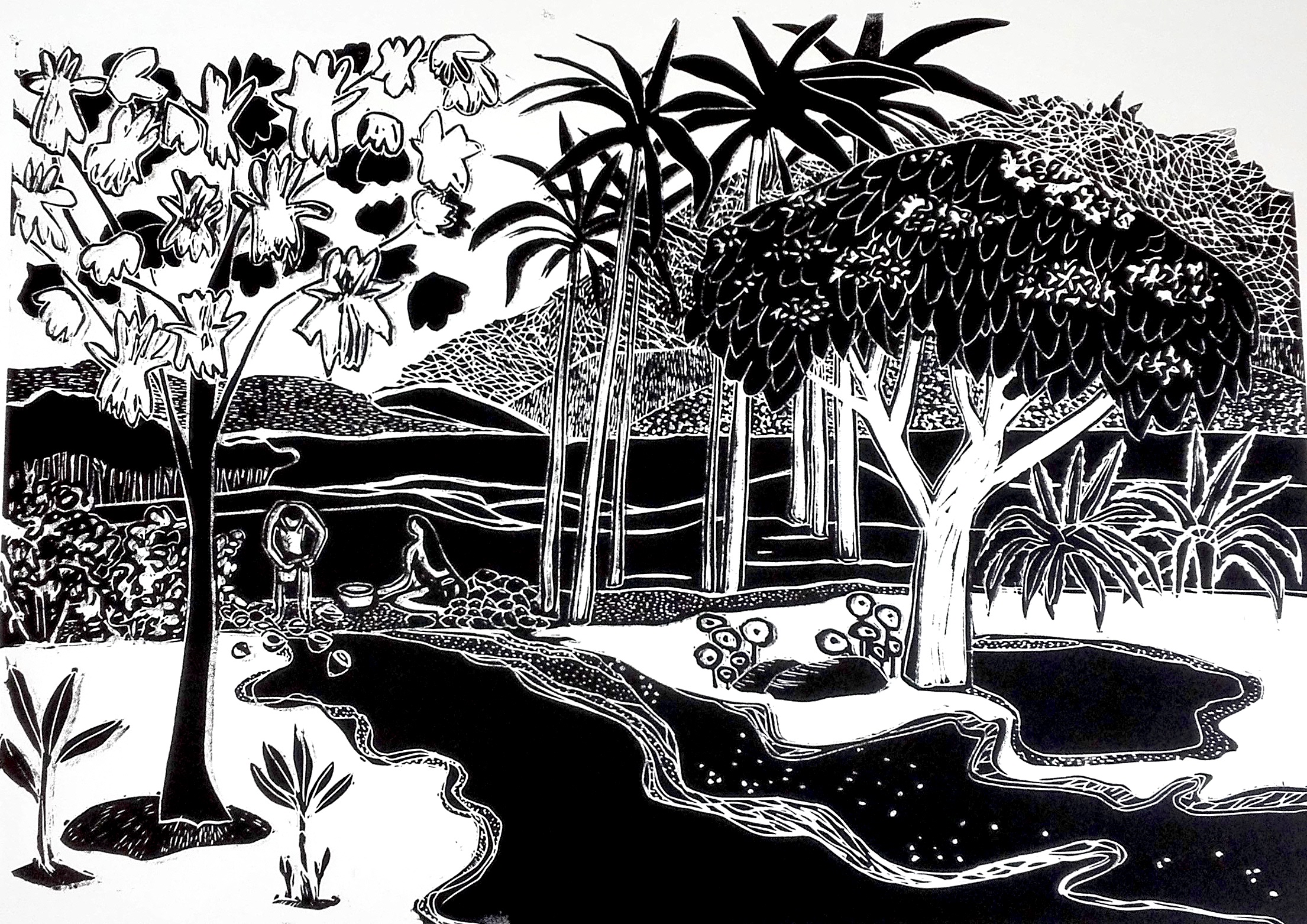 L'eau des cocos par Carole Durand