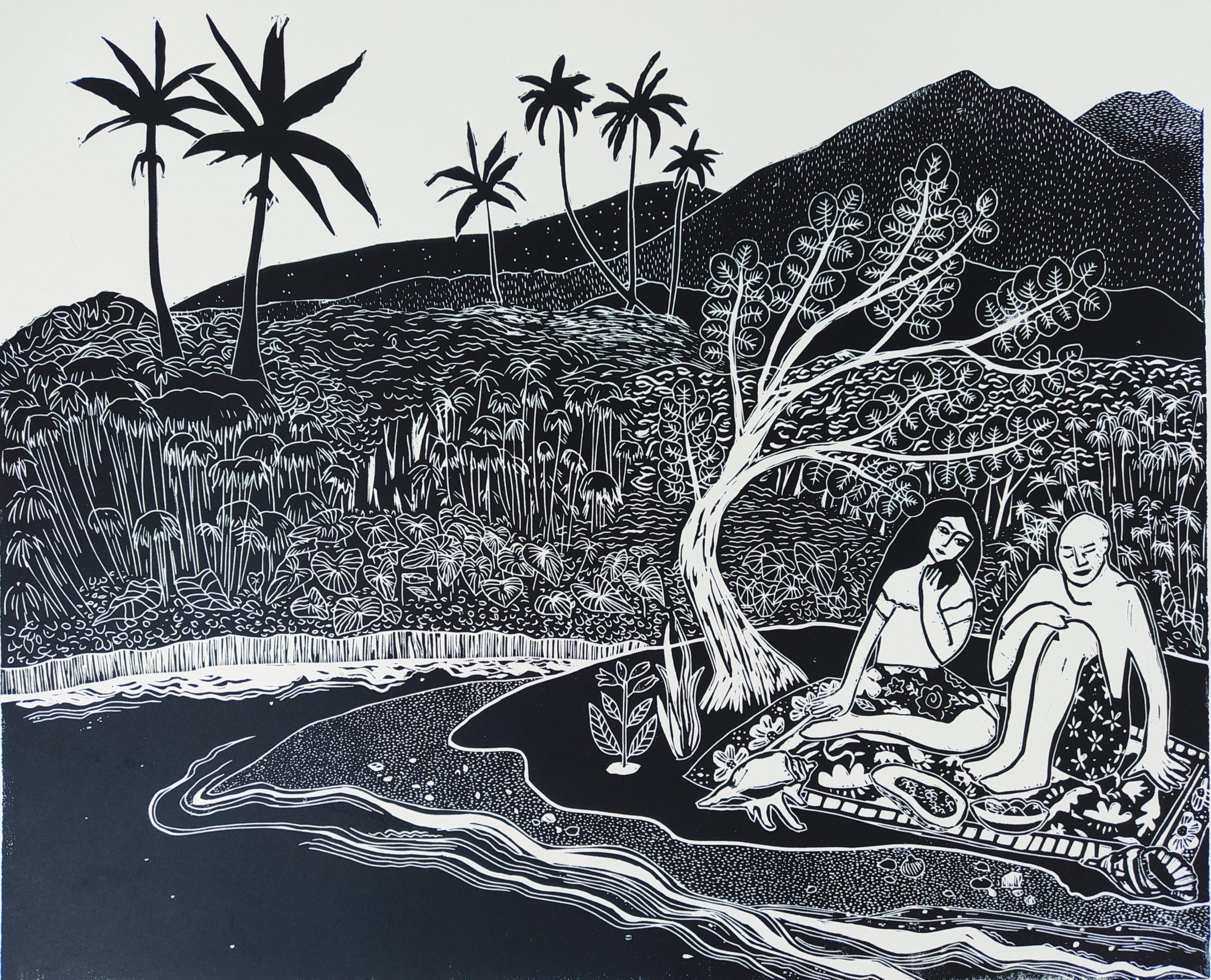 À l'ombre du paletuvier par Carole Durand