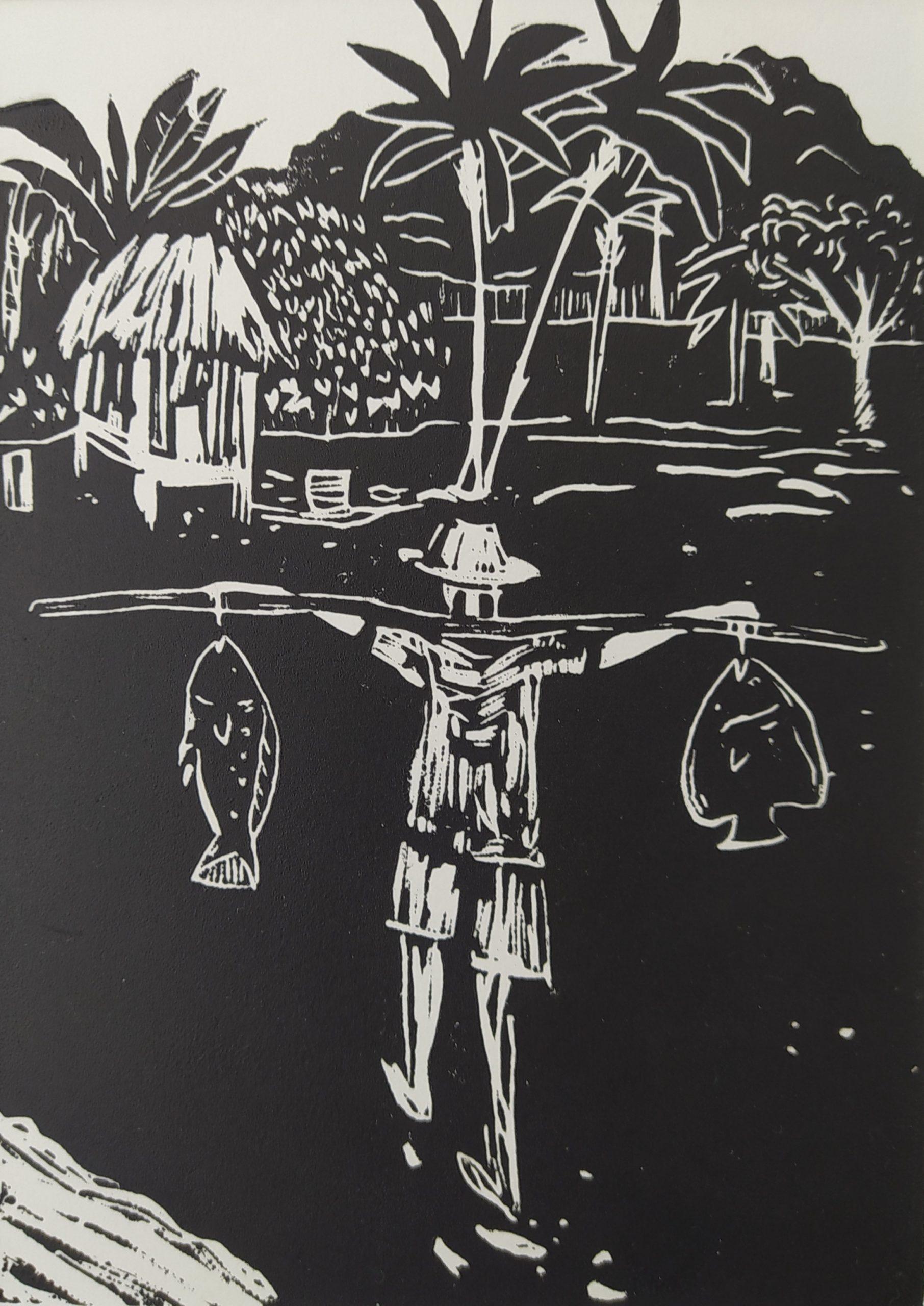 Retour de pêche par Carole Durand