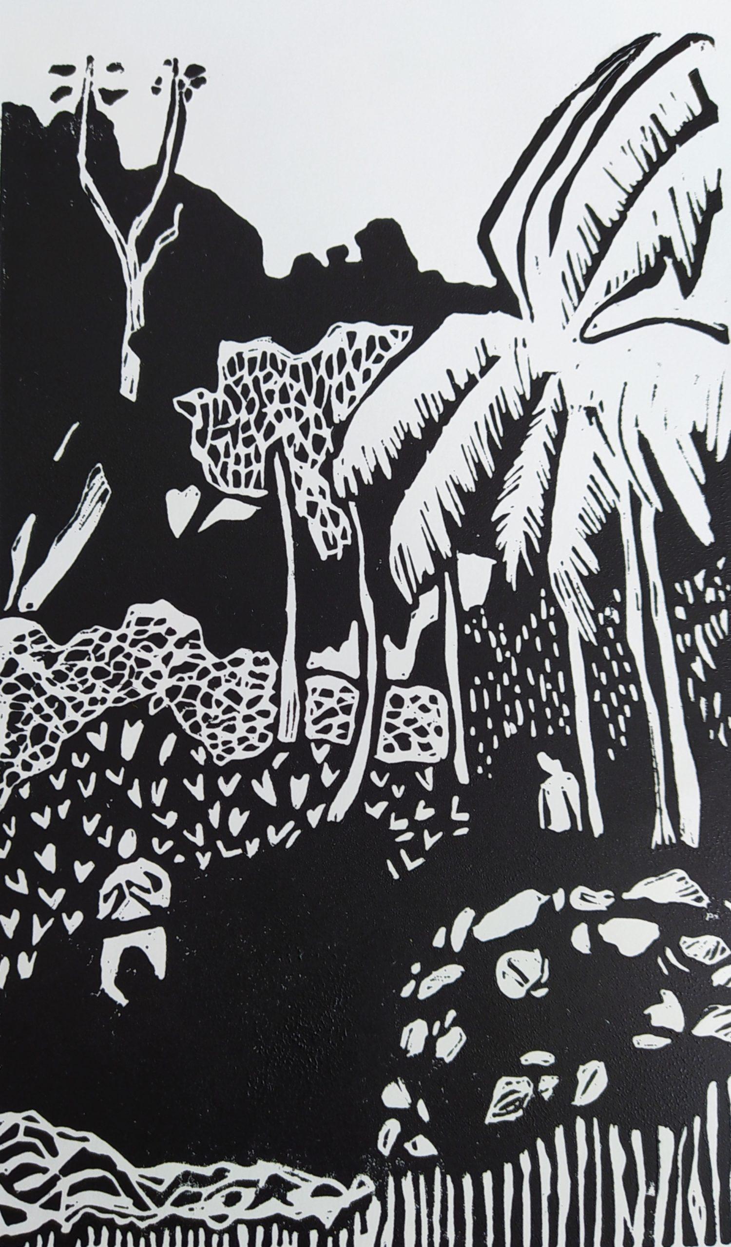 Sous les arbres par Carole Durand