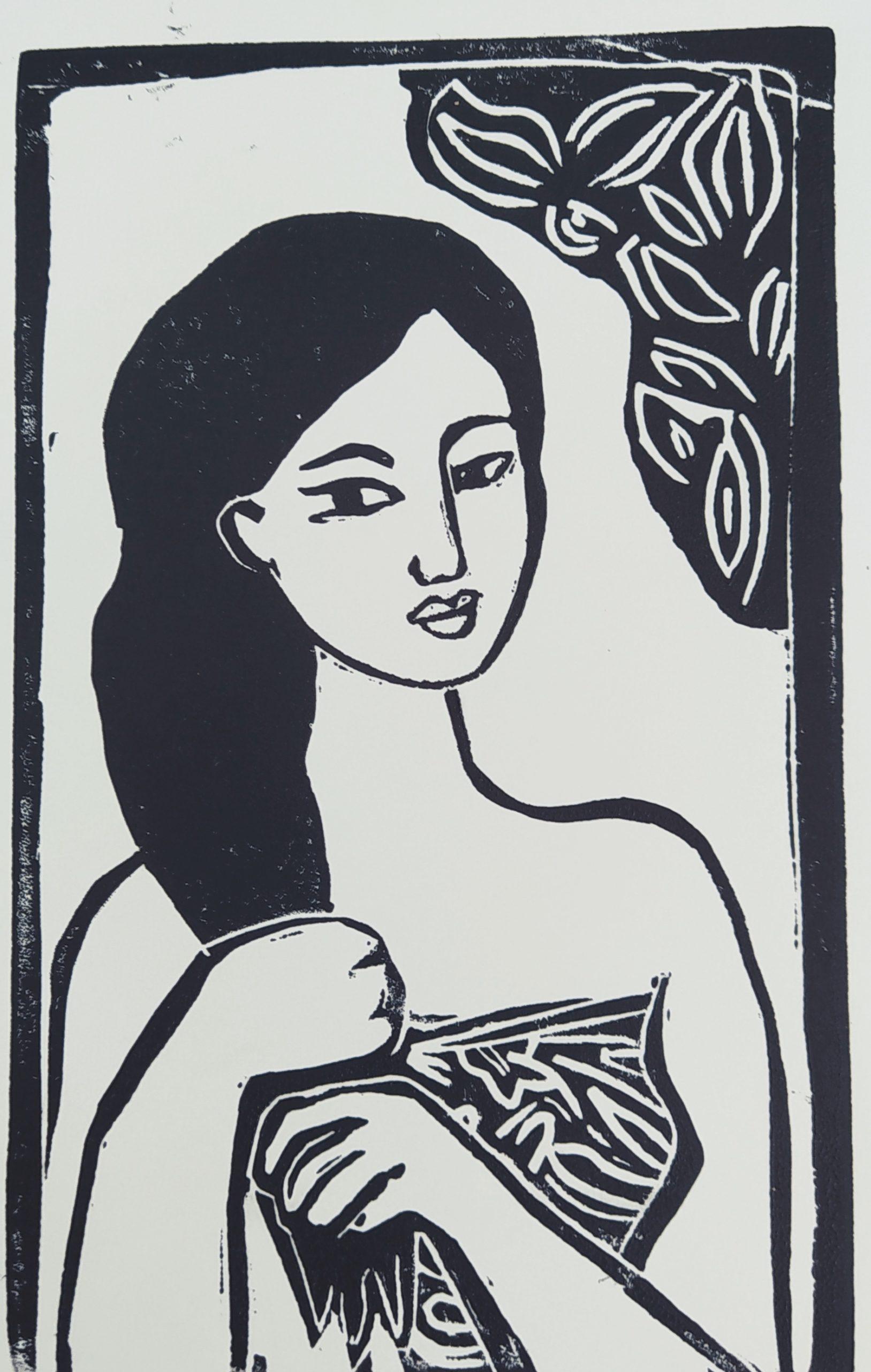 Femme au paréo